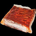 Panceta de cerdo curada pintada