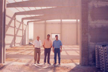 1994 - Construccion Fabrica en el Poligono